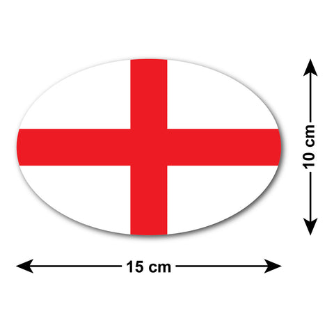 St George's Cross Car Sticker - National Flag of England