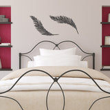 Feathers Wall Sticker Pack - Black