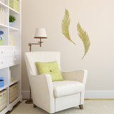 Feathers Wall Sticker Pack - Gold