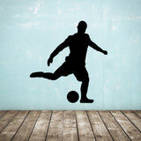 Football Wall Sticker - Free Kick - Black