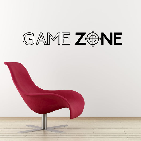 Game Zone Wall Sticker Computer Gamer Decal Zygomax