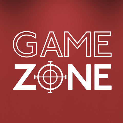 Game Zone Wall Sticker - White
