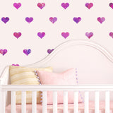 CraftStar Seamless Pattern Heart Stencil in Nursery