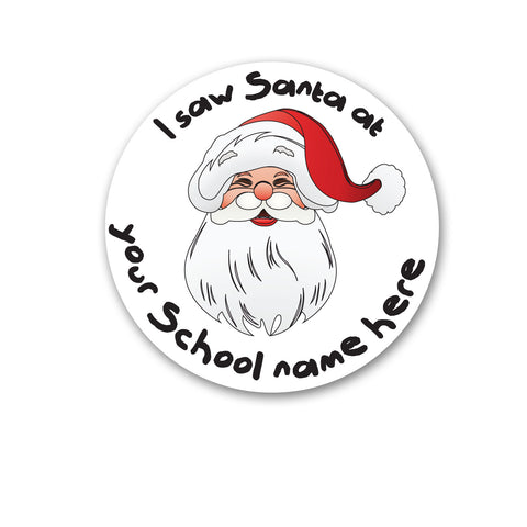 Personalised Santa's Grotto Stickers