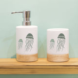 Craftstar Jellyfish Stencils on ceramic