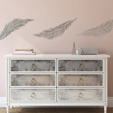 CraftStar Large Feather Wall Stencil