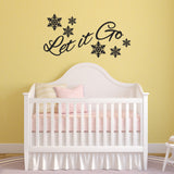 Let It Go Wall Sticker