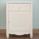 CraftStar Mini Flower Pattern Wall Stencil furniture upcycling
