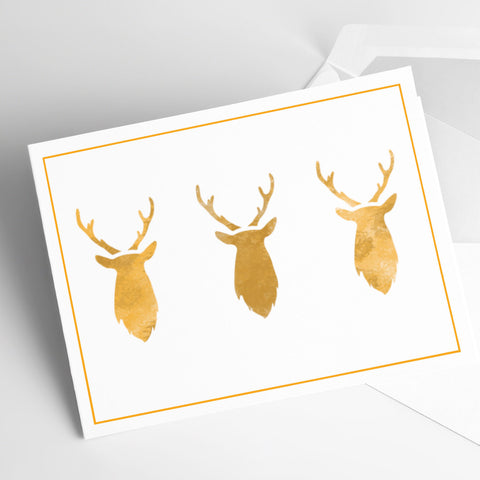 CraftStar Mini Stag Head Stencil