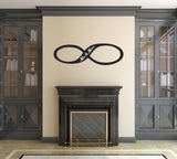 Infinity Wall Sticker - Mr and Mrs Edition - Black