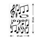 Music Note Car Stickers