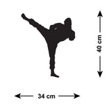 Ninja Martial Arts Wall Stickers - Figure 1