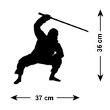 Ninja Martial Arts Wall Stickers - Figure 2