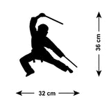 Ninja Martial Arts Wall Stickers - Figure 3