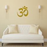 ZygoMax Om Wall Sticker - Gold
