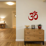 ZygoMax Om Wall Sticker - Red