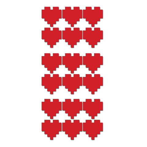Pixel Heart Sticker Pack