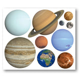Planet Wall Stickers - Layout
