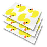 Rubber Duck Tile Stickers - Pack of 12