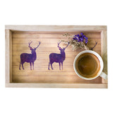 CraftStar Small Stag Craft Stencils on wood