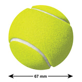 Tennis Ball Sticker Size