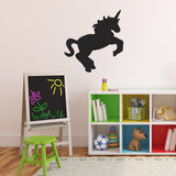 Unicorn Wall Sticker  - Black