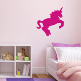 Unicorn Wall Sticker - Dark Pink