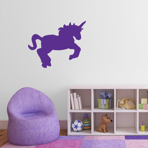 Unicorn Wall Sticker - Purple