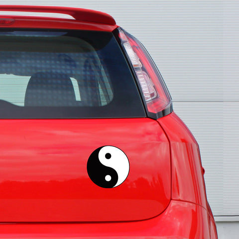 Yin-Yang Car Sticker