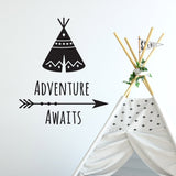 ZygoMax Adventure Awaits Wall Sticker