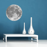 I Love You To The Moon And Back Wall Sticker - Living Room