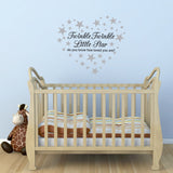 Twinkle Twinkle Little Star Child's Wall Sticker