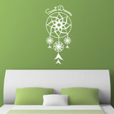 Sweet Dreams Dream Catcher Wall Sticker - White