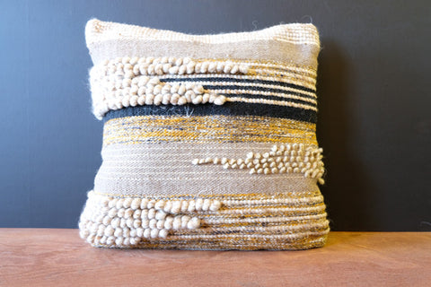 Fiber Art Pillow
