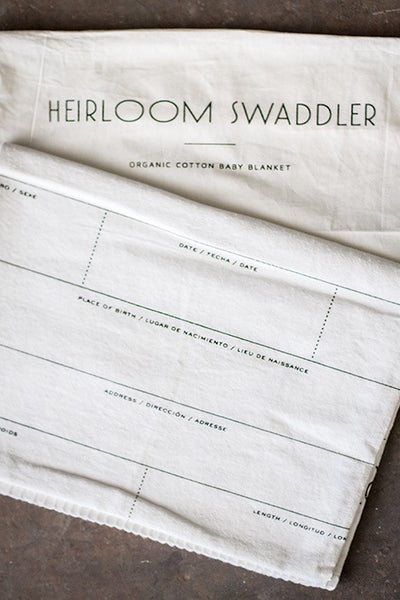 Heirloom Swaddler