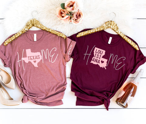"NEW!!! ""LOVE HOME. HOME LOVE""  Sparkle T-shirt"
