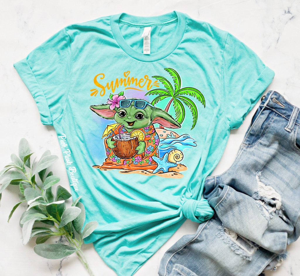 """Yoda Summer"" Tshirt - Kids /Adult"