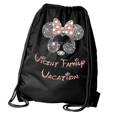 Personalized Minnie Vacation Backpack