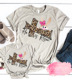 """He is Risen"" Mother + Daughter T-shirt"