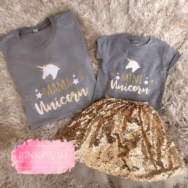 """MAMA / MINI UNICORN"" Tshirt"