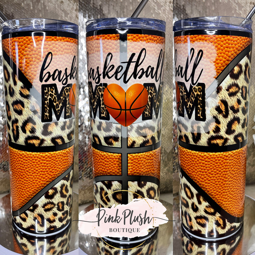 """Basketball Mom"" 20 oz. Tumbler"