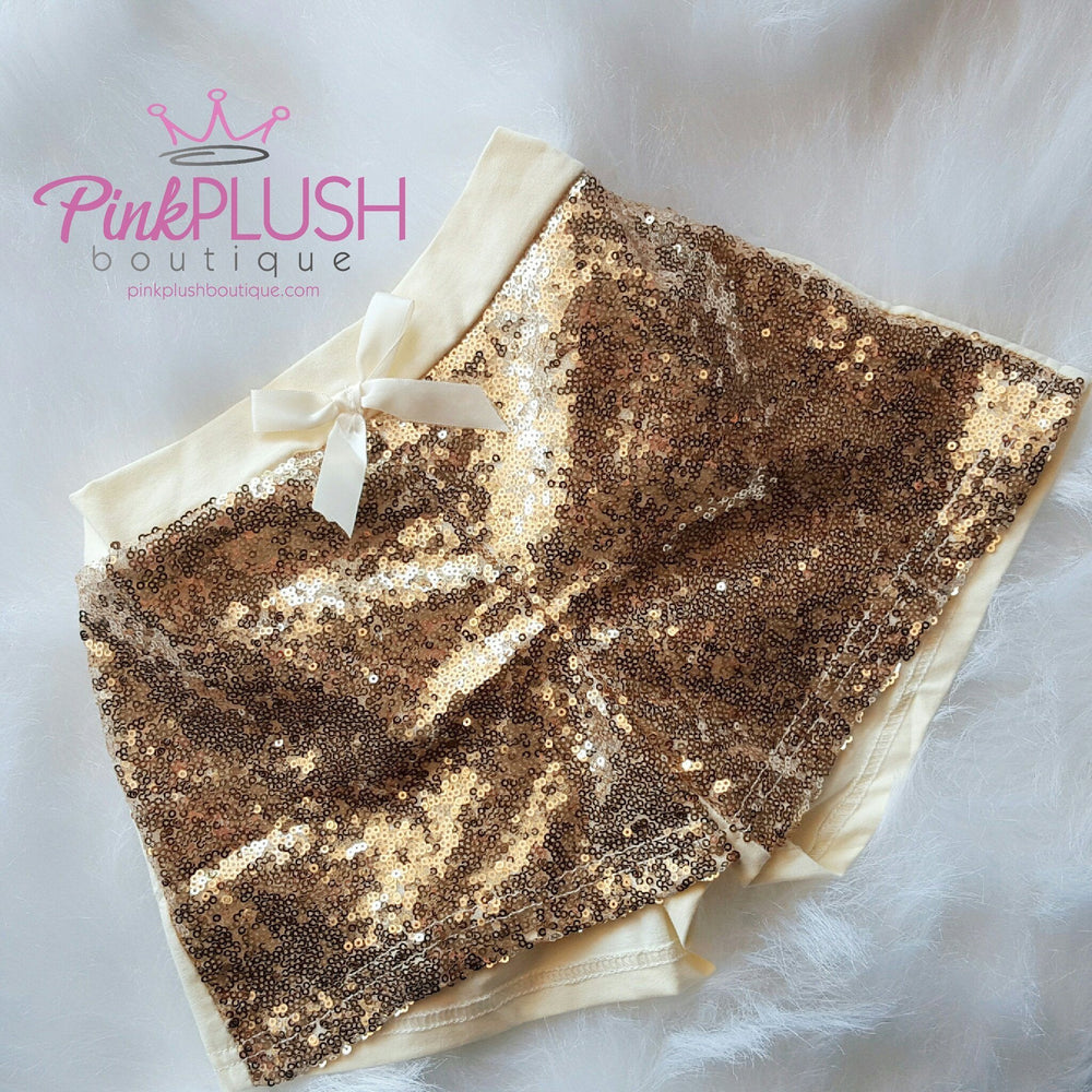"""Kate"" Sparkle Shorts - Pink Plush Boutique"