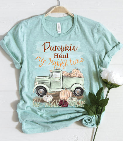 """Pumpkin Haul Time"" Tshirt"