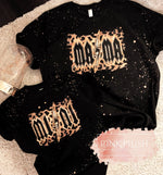 """Rockstar"" Bleached Mother + Daughter Tshirt - Pink Plush Boutique"