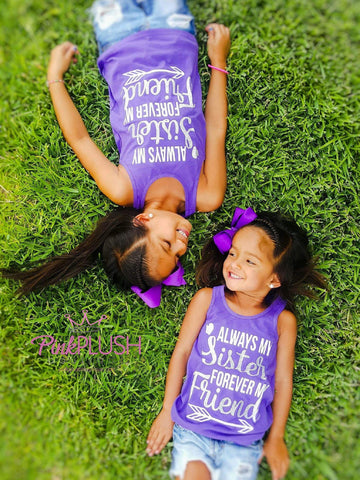 """Best Sisters & Friends"" Tank Set"