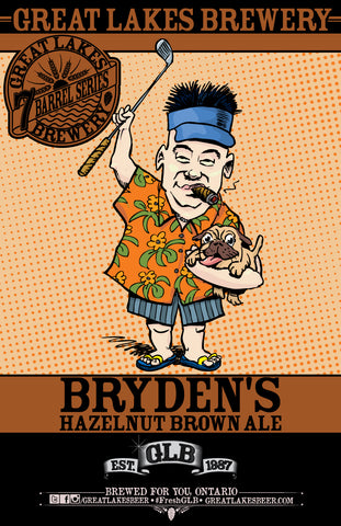 Bryden's Hazelnut Brown Poster