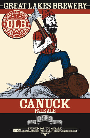 Canuck Pale Ale Poster