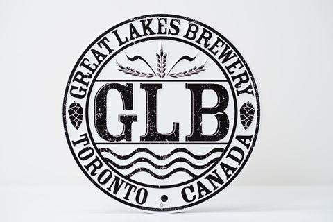 GLB Tin Sign