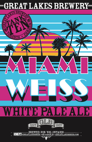 Miami Weiss Poster