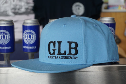 Six Panel Snap Back - Baby Blue
